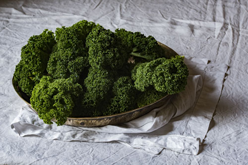 green veges help ward off osteoporosis