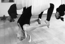 yoga craze in hammock