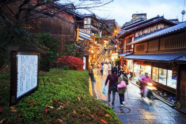 Kyoto walking