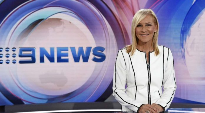Jo Hall newsreader for nine