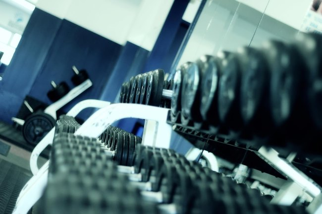 weight training is a great way to stay in shape