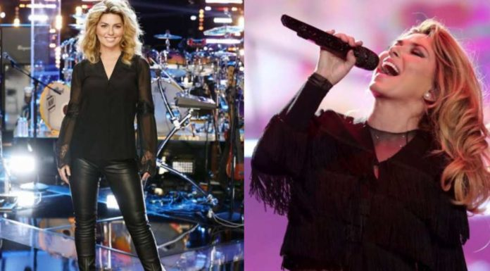 Shania Twain back after 15 years