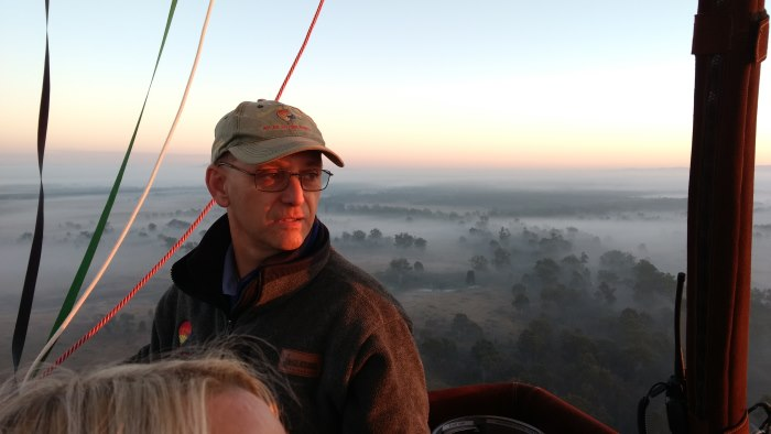 Graeme Day Hot Air Balloon pilot