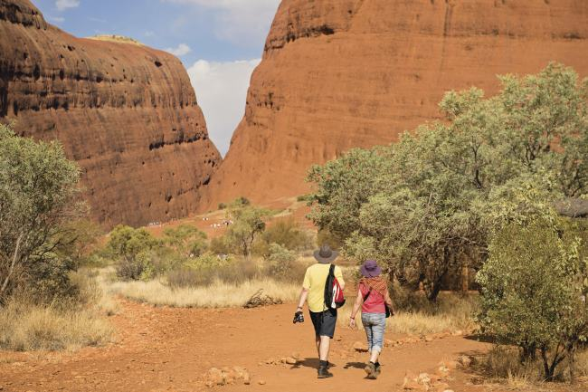 Hiking Kata Tjuta