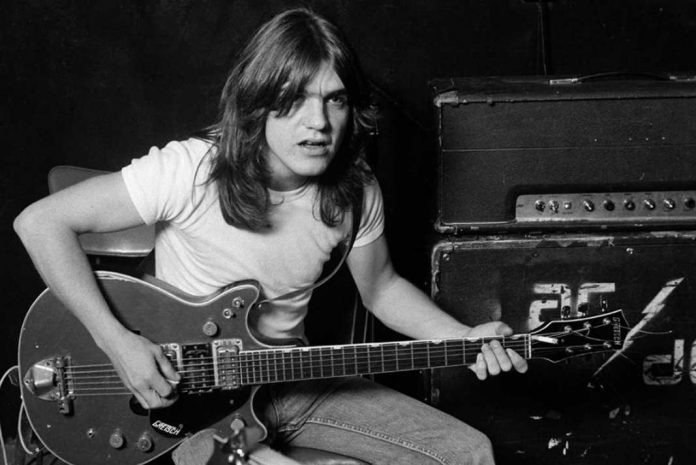 rock legend Malcolm Young