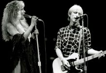 Stevie Nicks dedicates tour to Tom Petty