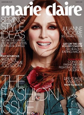 Julianne Moore cover girl