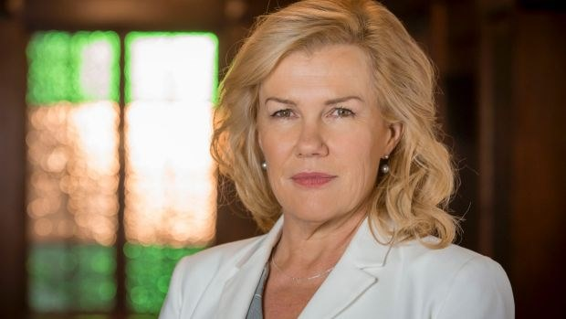 Robyn Malcolm stars in Harrow