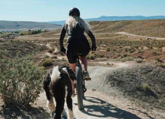 cycling turns back the clock