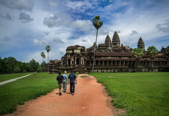 Cambodia is a popular destination in South-East Asia
