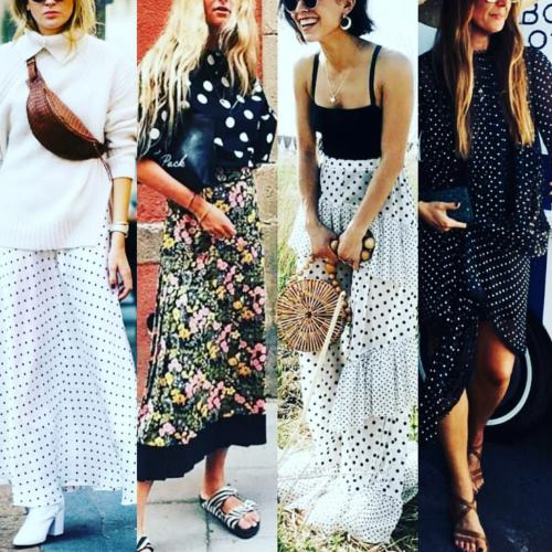 polka dots are cool again