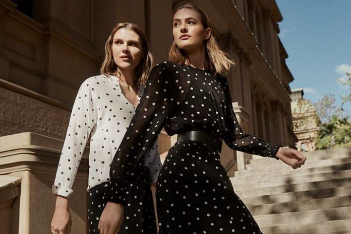 polka dots are cool and in fashion