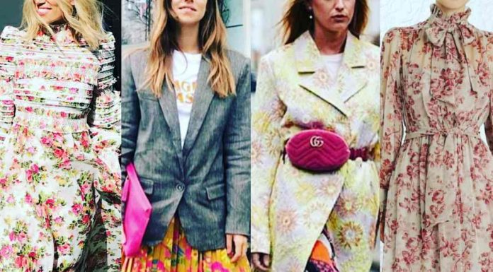 floral fashion is in full bloom