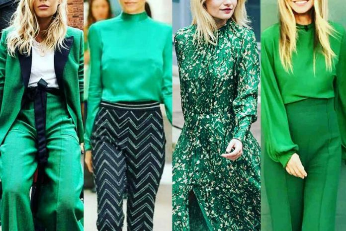 colour green is the new black