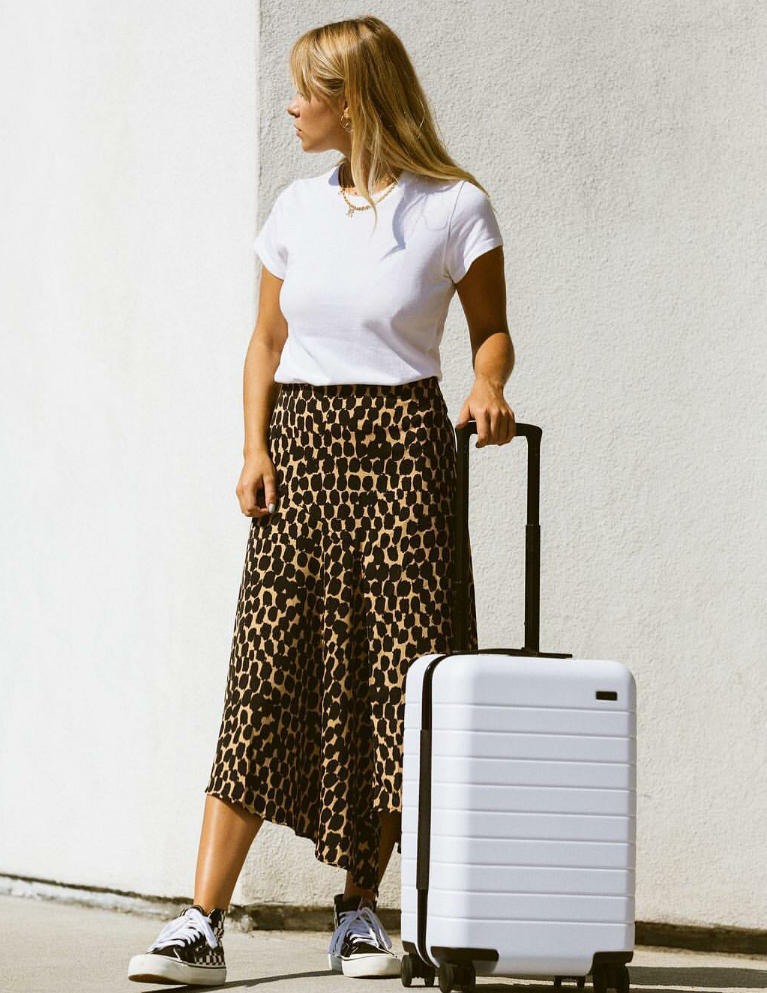 midi skirt is a summer fave