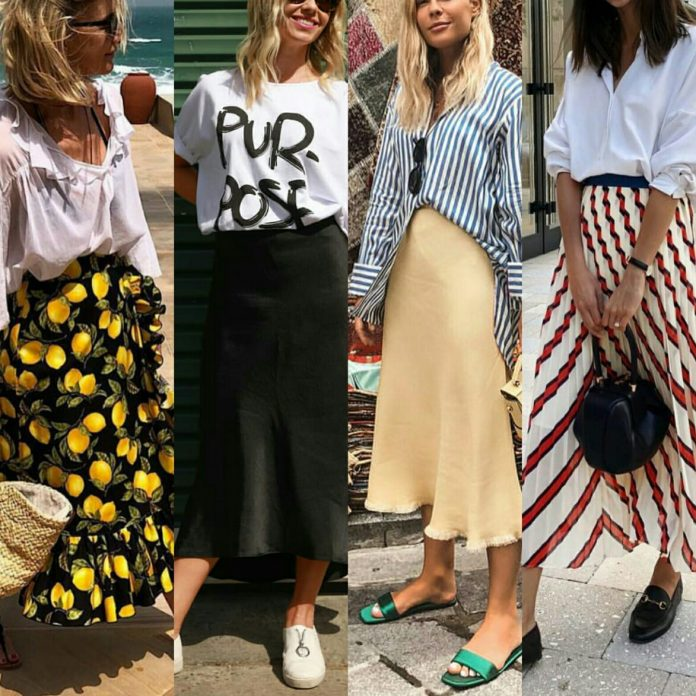 midi skirt is in this summer