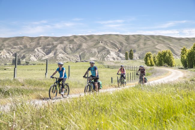 cycling in Otago