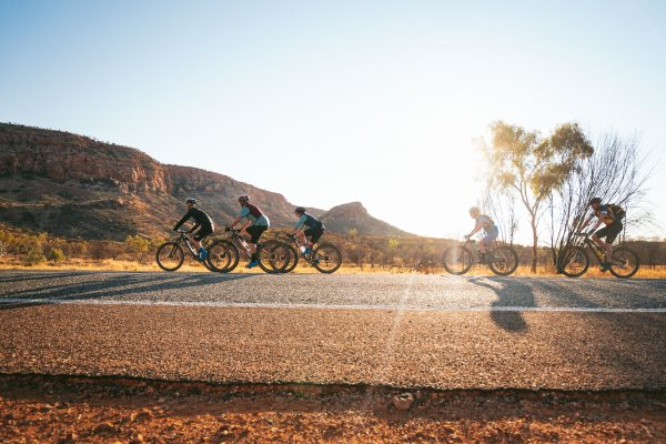 cycling in the Red Centre