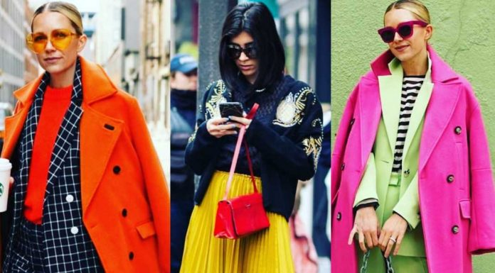 Fashion goes bold and bright