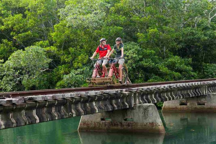 ecotrax in fiji